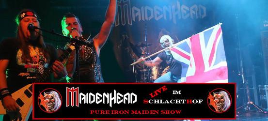Maidenhead live im Schlachthof