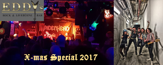 X-mas Special 2017 at Eddys Rock Club